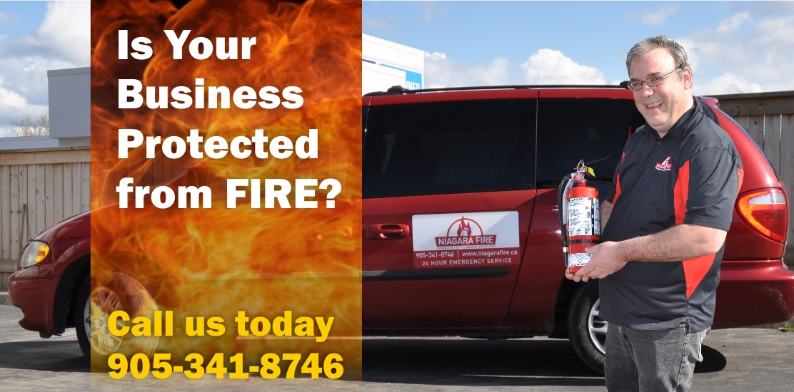 is your business protected from fire