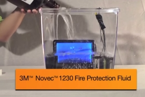 novec waterless fire protection