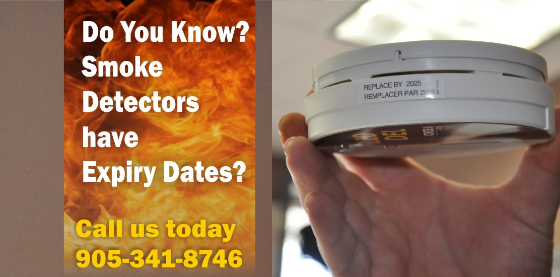 smoke detectors have expiry dates